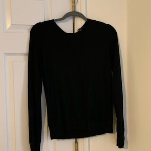 Ann Taylor lightweight sweater with zip